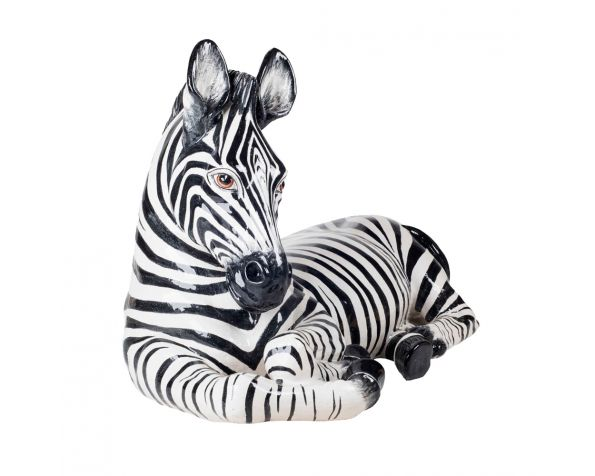 LYING ZEBRA Sculpture