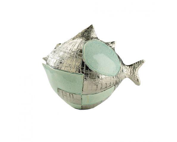 POP GLOBE FISH Sculpture