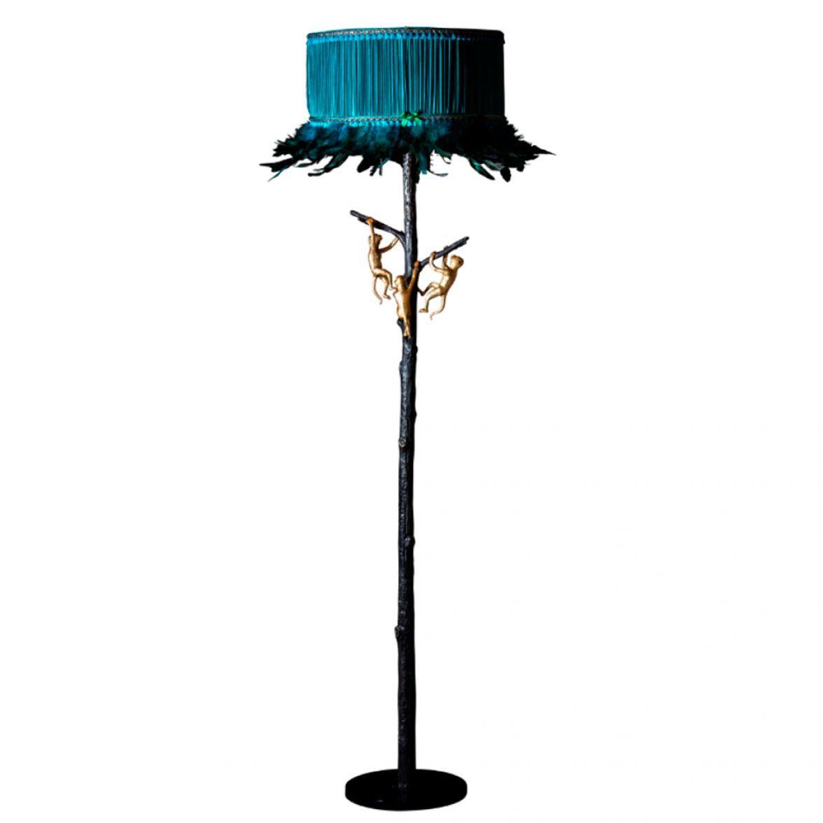 """Floor lamp """"Monkey tree"""""""