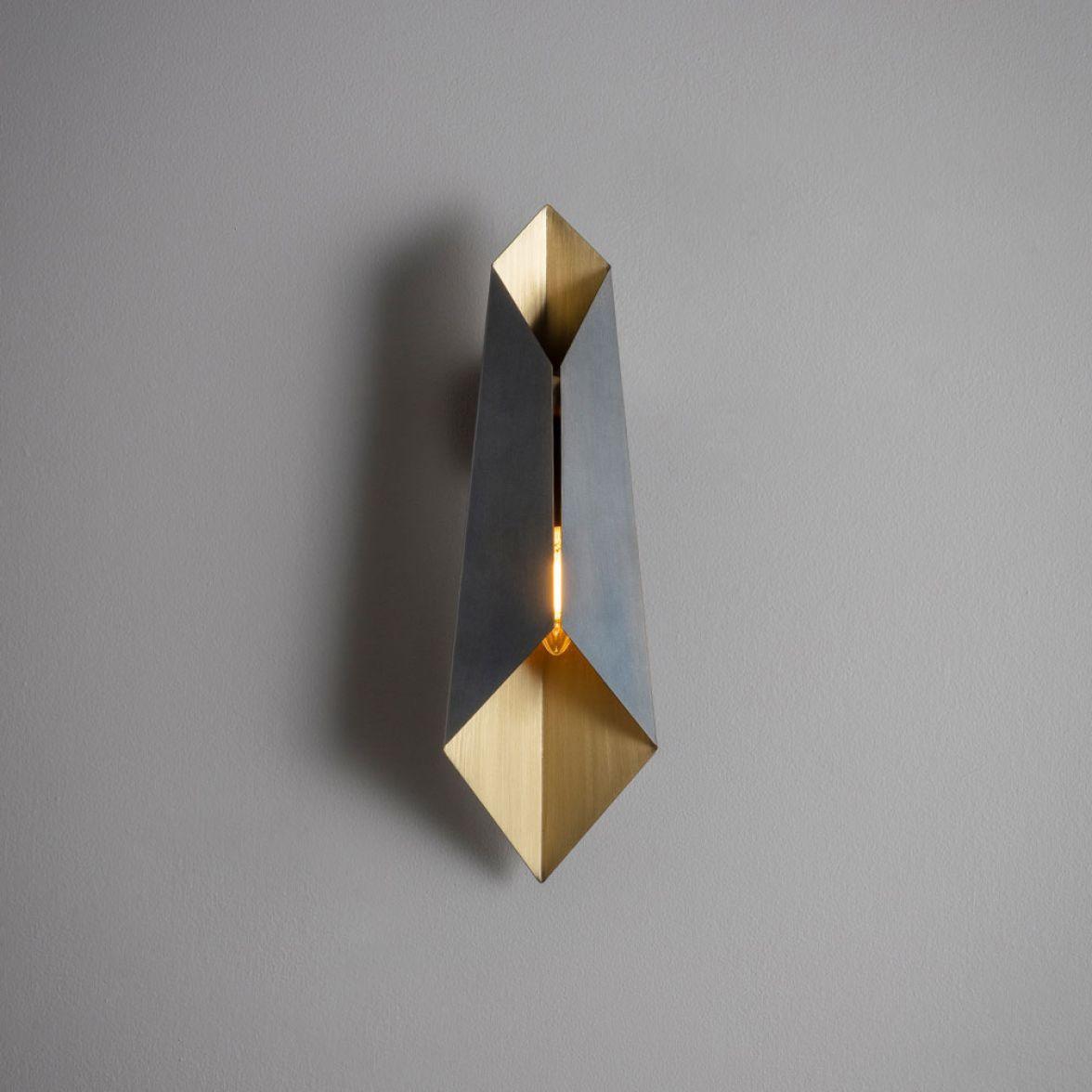 Bronze Fold wall light
