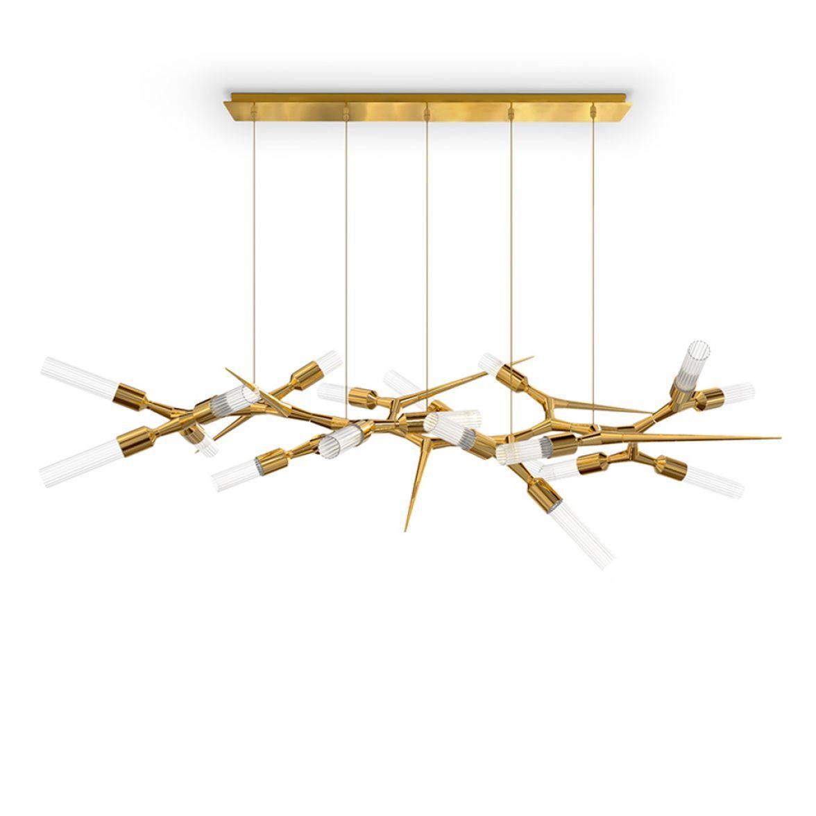 Shard chandelier